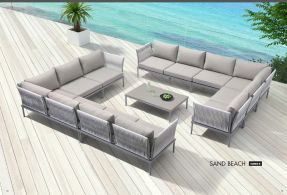 SAND BEACH (2) Modular Sectional (Combo B) by ZUO VIVE 2017