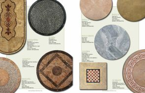 STONE & MARBLE Tabletops by Ancient Mosaic_09