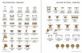 OCCASSIONAL & DINING TABLES by Lloyd Flanders 2018