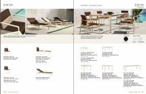 SWIM Loungers & Tables