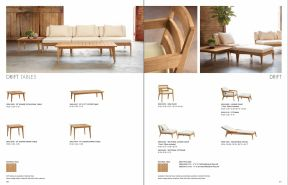 DRIFT Tables & Seating by Brown Jordan 2019