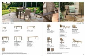 ELEMENTS Tables & Seating by Brown Jordan 2019 P2