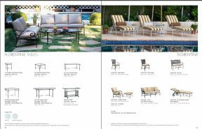 FLORENTINE Tables & Seating by Brown Jordan 2019