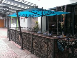 C09 - 9½' Square Cantilever with Deck Mount by FIM