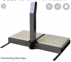 FIM Freestanding Offset Base with 2 Pavers