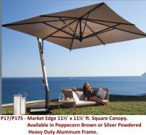 P17 - 11½' Square Cantilever by FIM