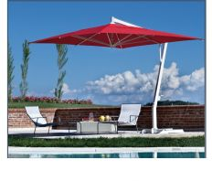 P19 - 10' x 13' Rectangular (Red Canopy) Cantilever by FIM