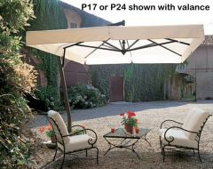 P24 - 9½' Square Cantilever wit Valance by FIM