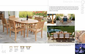 CHELSEA Extension Tables by 3Birds Casual