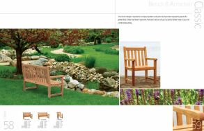 CLASSIC Bench 7 Armchair by 3Birds Casual