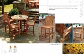 MONTEREY Bar Chairs by 3Birds Casual