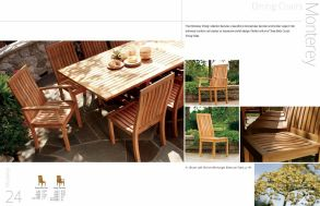 MONTEREY Dining Chairs by 3Birds Casual