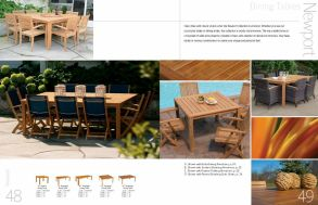 NEWPORT Dining Tables by 3Birds Casual