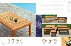 NEWPORT Occasional Tables by 3Birds Casual