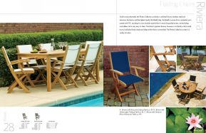 RIVIERA Folding Chairs by 3Birds Casual