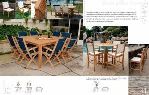 RIVIERA Stacking & Bar Chairs by 3Birds Casual
