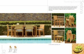 SEDONA Stacking Chairs by 3Birds Casual