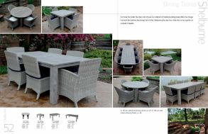 SHELBURNE Dining Tables by 3Birds Casual