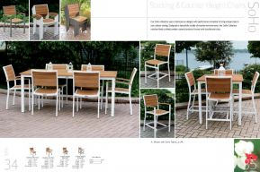 SOHO Stacking & Counter Height Chairs by 3Birds Casual