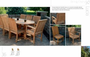 ST LUCIA Dining Chairs by 3Birds Casual