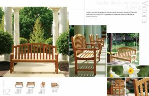 VICTORIA Swing & Benches by 3Birds Casual