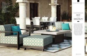 Outdoor Tables & Firepits (Aluminum) by Homecrest