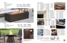 FORMA & BASSO Firepits & Accessories by O.W. Lee