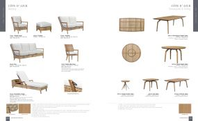 COTE D' AZUR Seating & Dining by Lane Venture
