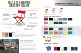 Director Chair Products Features, Benefits & Styles by Telescope Casual Residential
