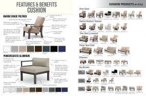 CUSHION Products Features, Benefits & Styles by Telescope Casual Residential