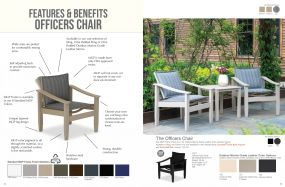 Officers Chair Features & Benefits by Telescope Casual