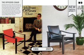 The Officers Chair by Telescope Casual