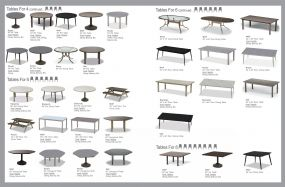 Quick Reference Tables (2) by Telescope Casual Residential