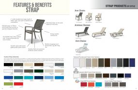 STRAP Products Features, Benefits & Styles by Telescope Casual Residential
