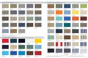 Sling & Cushion Fabric Selection by Telescope Casual