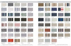 Cushion Fabric Selection by Telescope Casual