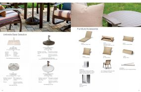 Umbrella Bases & Furniture Accessories by Telescope Casual Residential
