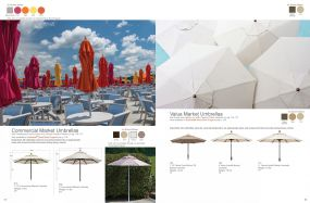 Commercial & Market Umbrellas by Telescope Casual Residential