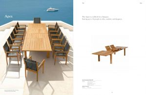 APEX (Teak) Extension Table & Dining Chairs by Barlow Tyrie