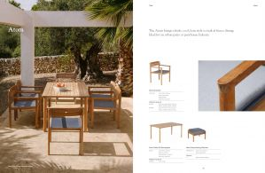 ATOM (Teak)  Dining Table & Chairs by Barlow Tyrie