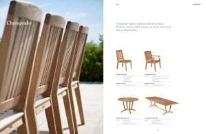 CHESAPEAKE (Teak)  Dining Table & Chairs by Barlow Tyrie