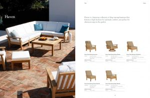 HAVEN (Teak) Sectional & Lounge Chairs by Barlow Tyrie