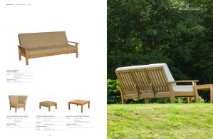HAVEN (Teak) Sofa by Barlow Tyrie