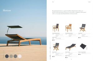 HORIZON (Teak) Loungers & Chairs by Barlow Tyrie