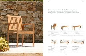 LINEAR (Teak) Sofas & Arm Chairs by Barlow Tyrie
