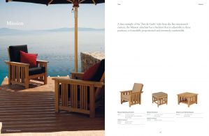 MISSION (Teak) Arm Chairs by Barlow Tyrie