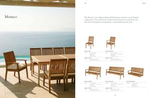 MONACO (Teak) Dining Chairs & Benches by Barlow Tyrie