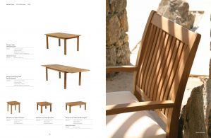 MONACO (Teak) Dining Tables by Barlow Tyrie