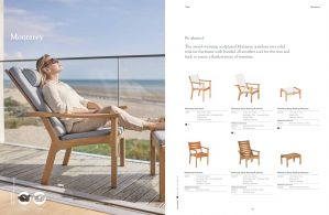 MONTEREY (Teak) Lounge Chairs by Barlow Tyrie