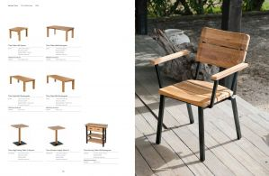 RUSTIC (Teak) Table & Benches by Barlow Tyrie
